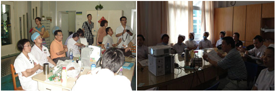 建省福州市人民医院呼吸科科室会、南平市第一医院科室会-深圳朗天